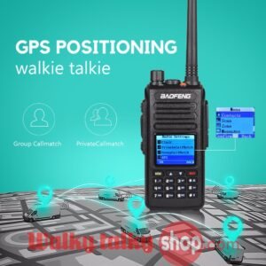 Baofeng DM1702 GPS Dual Band DMR Ham Radio