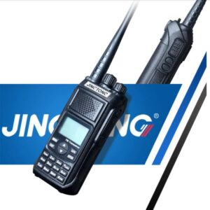 Jingtong JT-5988 12W Ultra High Power 50KM Tri-Band Ham Radio 4800mAh