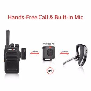 Universal Wireless Walkie Talkie K-head Bluetooth PTT Headset