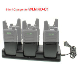 WLN Walkie Talkie Kd-C1 6 Units Charger For Kd C1 Two Way Radio