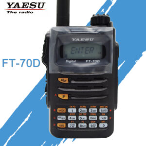 Yaesu FT-70D C4FM / FM Dual-Band Handheld Digital Two Way Radio
