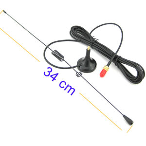 Ham Radio Baofeng Nagoya UT106 Dual Band Magnetic SMA-Female Car Antenna