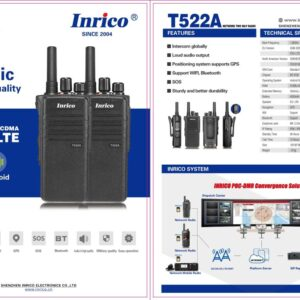 Inrico T522A 4G LTE GSM/WCDMA Classic Military Quality