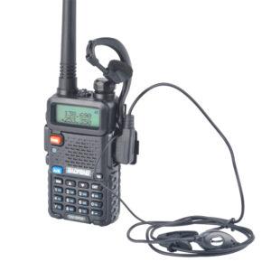 HandsfreeUV-5RIII Baofeng 3 Bands Portable FM Transceiver