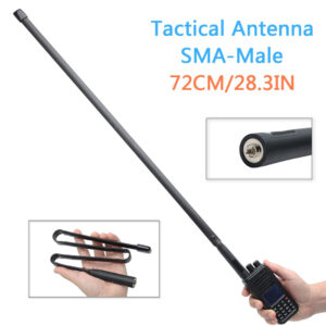 TYT MD380 MD390Wouxun Yaesu Kenwood SMA-M 72CM Foldable Antenna