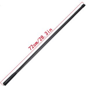 Updated 72CM/28.3IN SMA-Female Dual Band Foldable Tactical Antenna