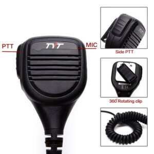Baofeng Wouxun Kenwood TYT Waterproof PTT Speaker Microphone