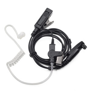 Motorola GP328plus GP338plus Surveillance Earpiece PTT Mic