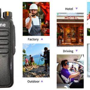 Military Quality Alafone A17Plus UHF Handheld Professional Radio