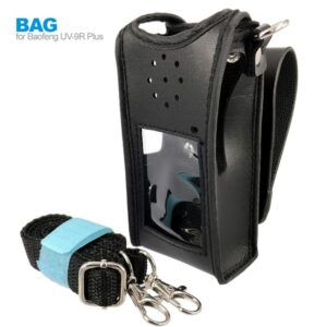 Leather Case Cover Bag For Baofeng UV-9R Plus BF-A58 BF-9700 GT-3WP Two WayRadio