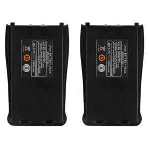 Baofeng BF888S BF777S BF66S Retevis H777 Radios 2pcs Battery