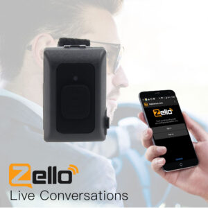 Walkie Talkie Android Zello PTT Wireless Bluetooth Handsfree Microphone