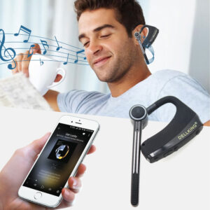 IOS Android System Bluetooth Dual PTT Earpiece Support Two-way Radio Apps Zello Azzeti