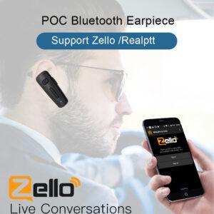 Bluetooth PTT Earphone KODIAK ESCHAT Zello Realptt app Android Phone