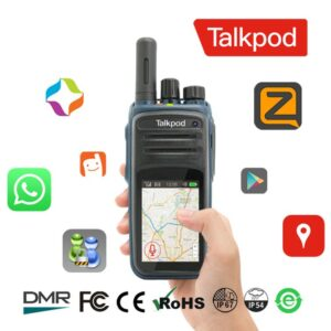 Talkpod N59 4G LTE Upgraded PTT Network Touch Screen Android Radio