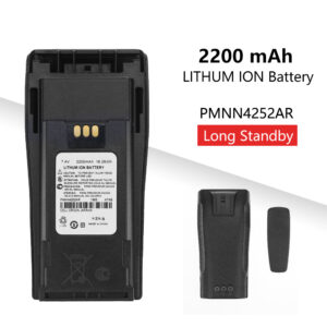 PMNN4252AR External Lithium Battery For Motorola CP040 CP140 DP1400 Walkie Talkie