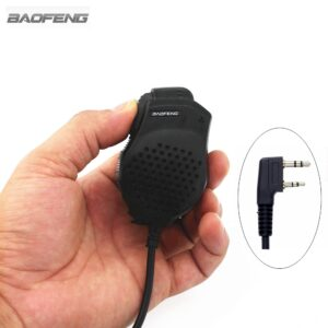 Baofeng Dual PTT Speaker MIC UV-82 UV-8 UV82L UV-89 UV-82 Plus UV-82TP GT-5TP UV-82HP UV-82HX Hand Microphone for UV-8D UV 82 UV82