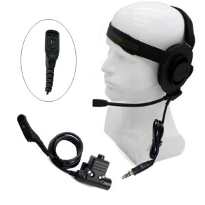 U94 PTT Military Tactical Bowman Elite II Earphone for Motorola XiR P8268 GP338D DGP4150+ XPR6550 etc