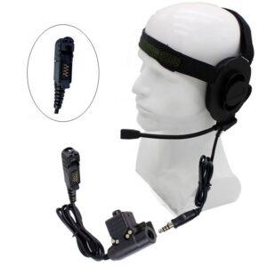 Tactical Peltor Military U94 PTT Bowman Elite II Earphone For Motorola XPR3300 XIRP6600 MTP3150 E8600/8608