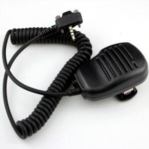 Yaesu Vertex Standard Walkie Talkie EVX-261 X350 VX351 VX354 VX400 VX410 etc Remote Speaker Microphone