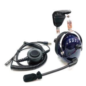 Kenwood Baofeng Anytone Wouxun High Noise Cancelling Dynamic Mic Heavy Duty Earphone