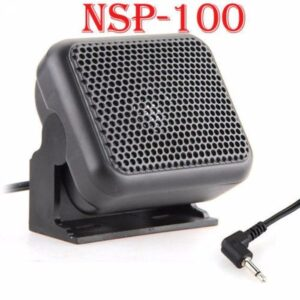 For Kenwood Yaesu ICOM Ham Radios NSP-100 Mini External Speaker Microphone