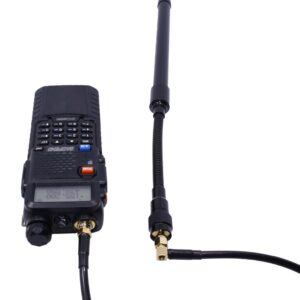 Baofeng UV-5R UV-82 UV-9R Plus Walkie Talkie AR-152 AR-148 Tactical Antenna Coaxial Extend Cable