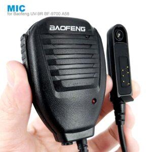 Baofeng UV9R UV-9R Plus BF-9700 BF-A58 GT-3WP R760 UV-82WP Waterproof Shoulder Remote Speaker Mic