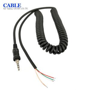 Yaesu Vertex VX-6R VX-7R etc Walkie Talkie Hand Microphone Cable