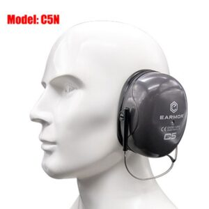 OPSMEN EARMOR C5 Maxdefense earmuffs NRR26 Headband Double-Shell Structure passive Operation Hearing Protector