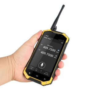Talinfone W3 Android 4G Phone NFC 4.7 Inch IP68 Waterproof UHF Walkie Talkie