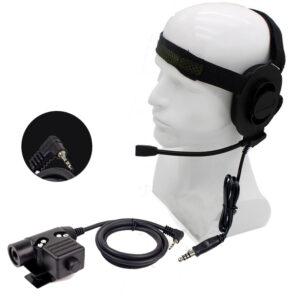 Motorola T5428 T6200 T6210 etc Radios Z Tactical HD01Headphone with U94 PTT