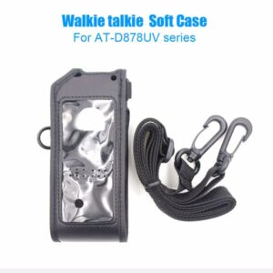 ANYTONE AT-D878UV AT-D878UV PLUS DMRWalkie TalkieSoft Leather Case Cover